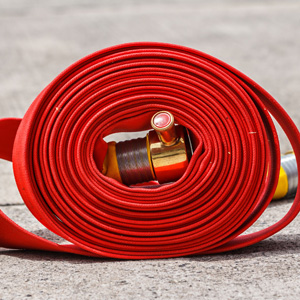 Wet and dry riser hose